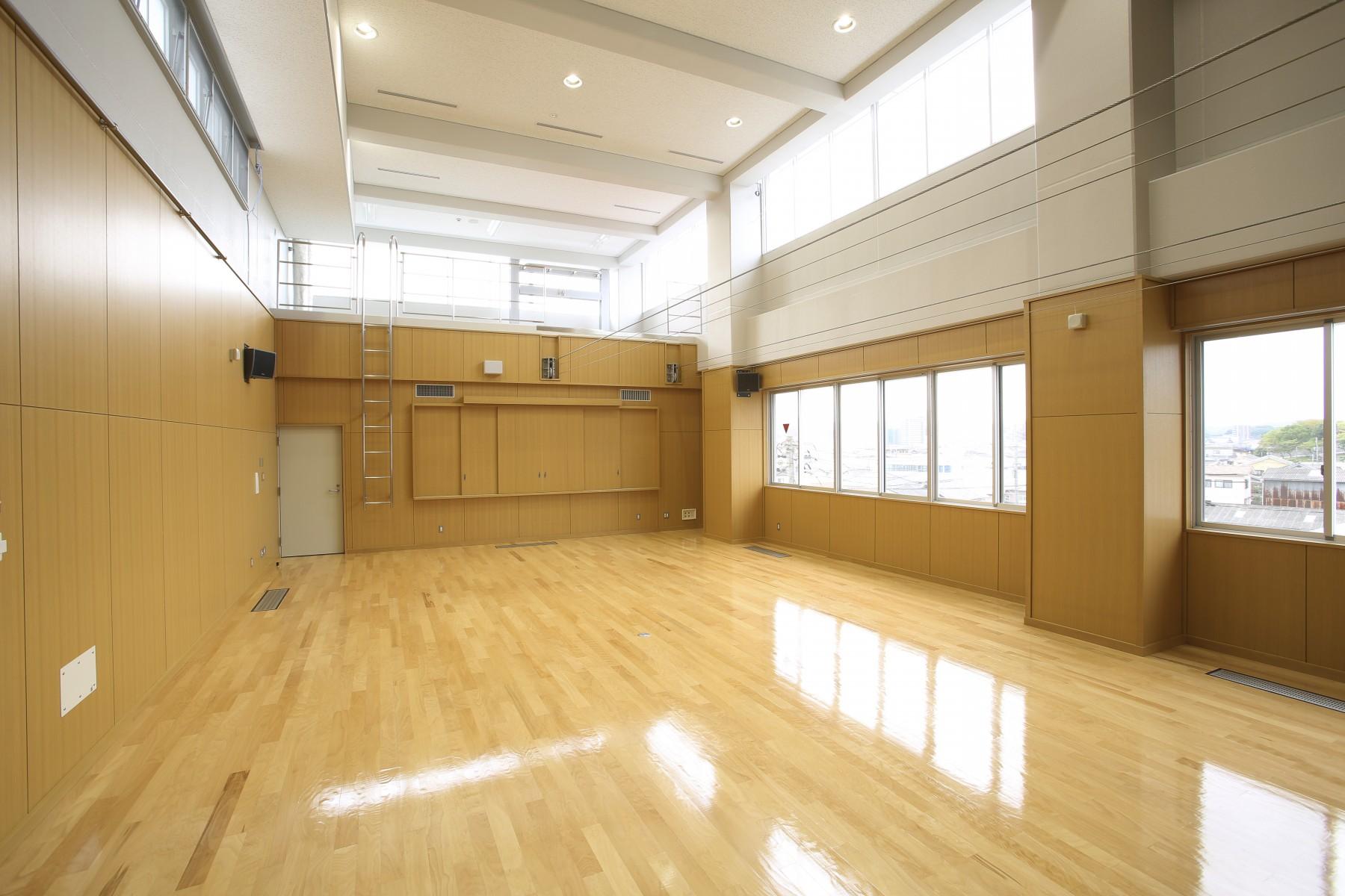 No.37.4階講堂兼室内訓練場2